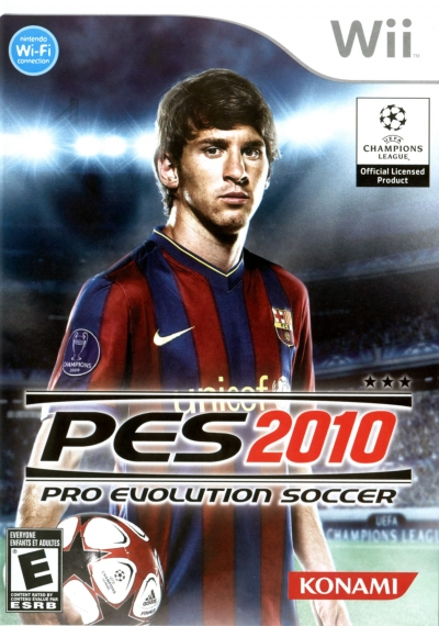 Obal hry Pro Evolution Soccer 2010