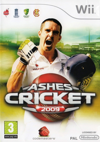 Obal hry Ashes Cricket 2009