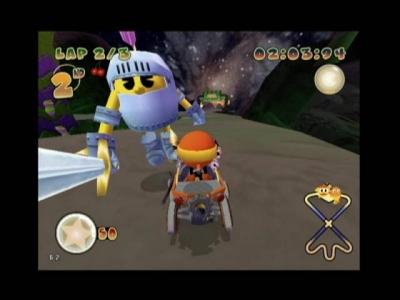 Screen ze hry Pac-Man World Rally