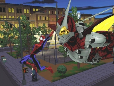 Screen ze hry Ultimate Spider-Man