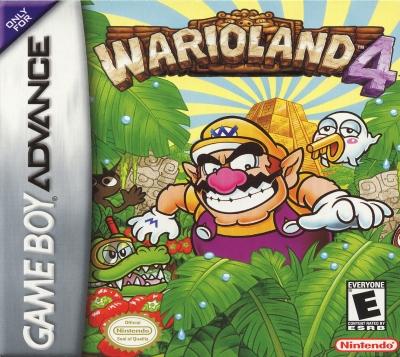 Obal hry Wario Land 4
