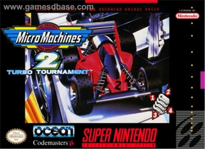 Obal hry Micro Machines 2 - Turbo Tournament