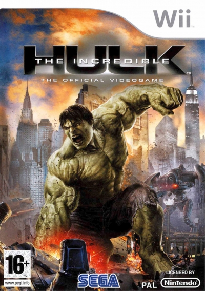 Obal hry The Incredible Hulk