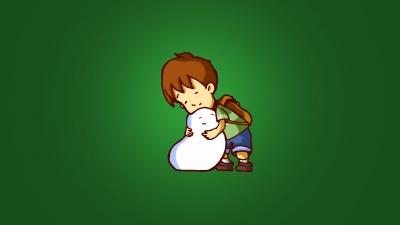 Artwork ke hře A Boy and His Blob