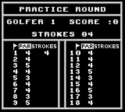 Screen ze hry PGA Tour 96