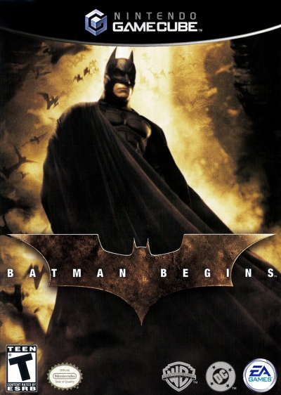 Obal hry Batman Begins