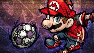 Artwork ke hře Super Mario Strikers