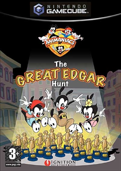 Obal hry Animaniacs: The Great Edgar Hunt