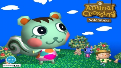 Artwork ke hře Animal Crossing: Wild World
