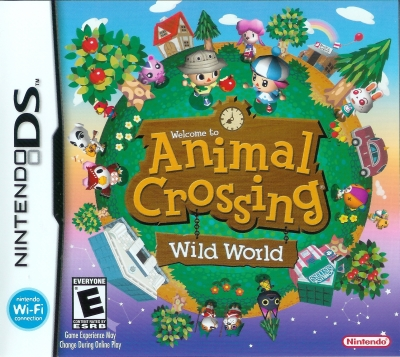 Obal hry Animal Crossing: Wild World
