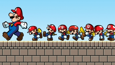 Artwork ke hře Mario vs. Donkey Kong