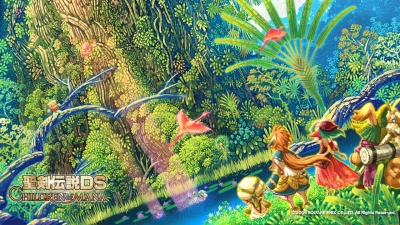 Artwork ke hře Children of Mana