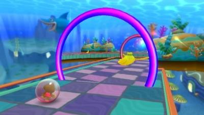 Screen ze hry Super Monkey Ball