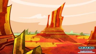 Artwork ke hře Meteos