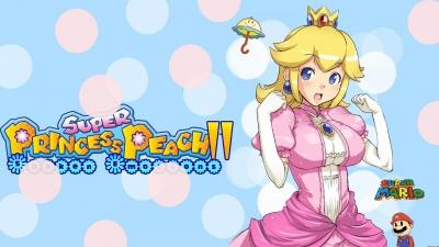 Artwork ke hře Super Princess Peach