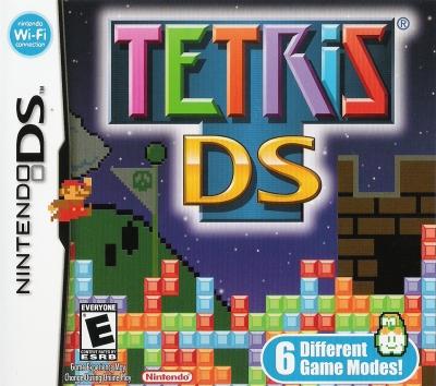 Obal hry Tetris DS