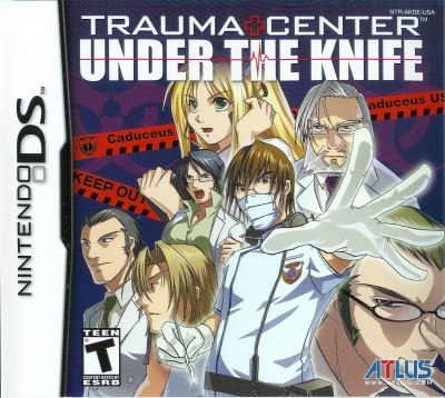 Obal hry Trauma Center: Under the Knife
