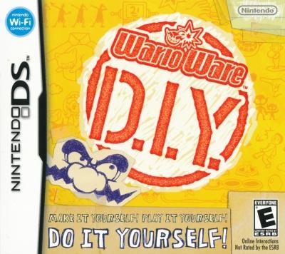 Obal hry WarioWare D.I.Y.