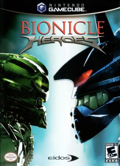 Obal hry Bionicle Heroes