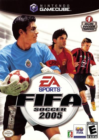 Obal hry FIFA Soccer 2005