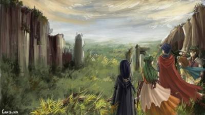 Artwork ke hře Fire Emblem: Path of Radiance