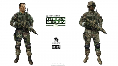 Artwork ke hře Tom Clancy´s Ghost Recon 2