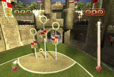 Screen ze hry Harry Potter: Quidditch World Cup