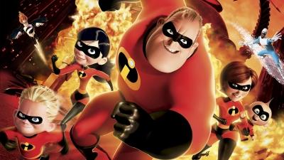 Artwork ke hře The Incredibles