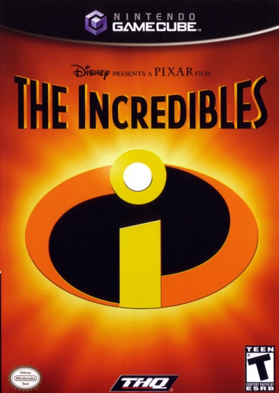 Obal hry The Incredibles