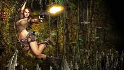Artwork ke hře Tomb Raider: Legend