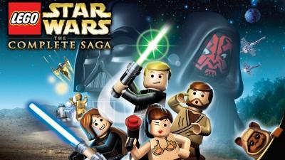 Artwork ke hře LEGO Star Wars: The Complete Saga