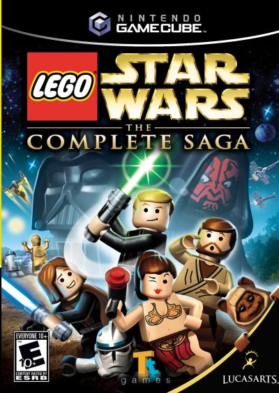 Obal hry LEGO Star Wars: The Complete Saga