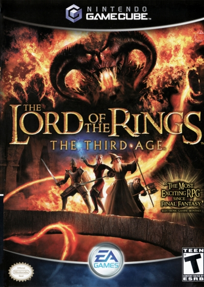 Obal hry The Lord of the Rings: The Third Age