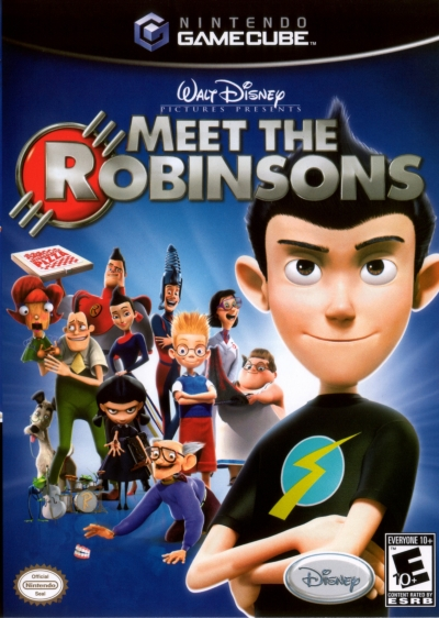 Obal hry Disney´s Meet the Robinsons