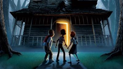 Artwork ke hře Monster House