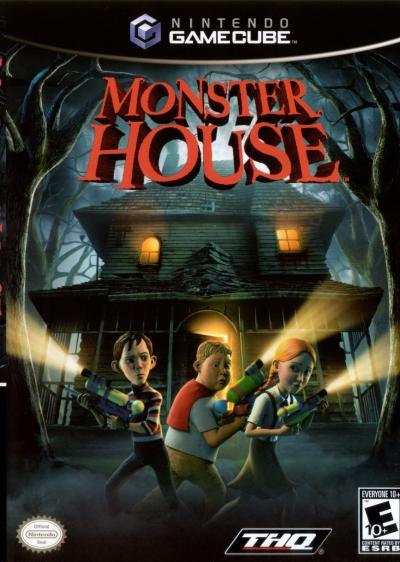 Obal hry Monster House