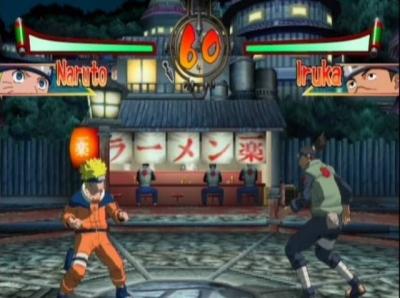 Screen ze hry Naruto: Clash of Ninja