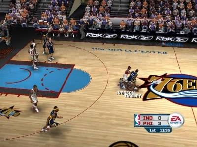Screen ze hry NBA Live 06