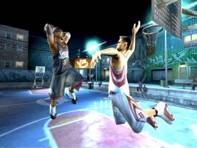 Screen ze hry NBA Street V3