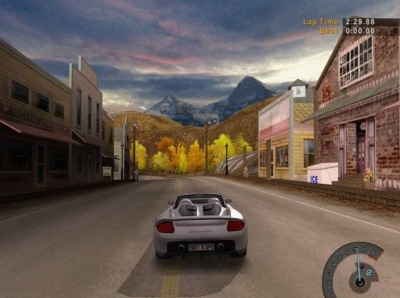 Screen ze hry Need for Speed: Hot Pursuit 2