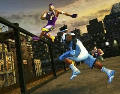 Screen ze hry NFL Street