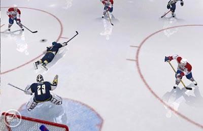 Screen ze hry NHL 06