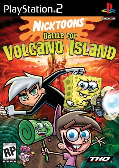 Artwork ke hře Nicktoons: Battle for Volcano Island