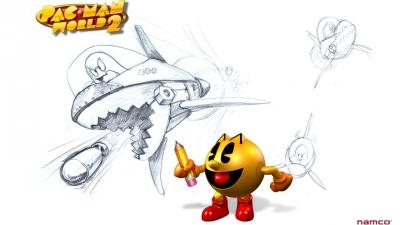 Artwork ke hře Pac-Man World 2