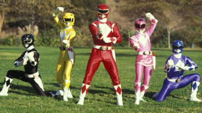 Artwork ke hře Power Rangers Dino Thunder