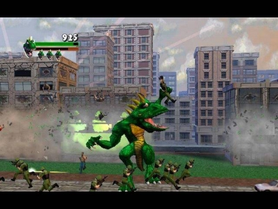 Screen ze hry Rampage: Total Destruction