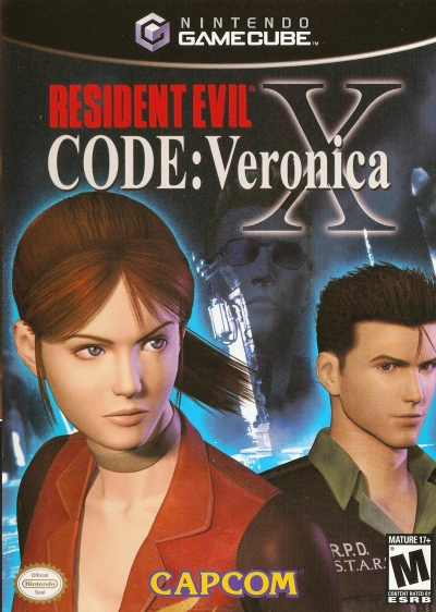 Obal hry Resident Evil Code: Veronica X