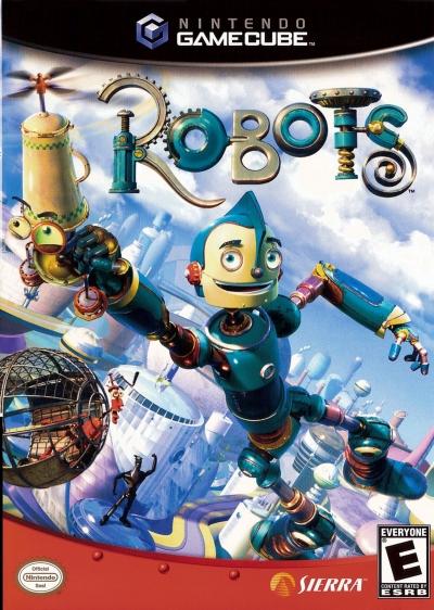 Obal hry Robots