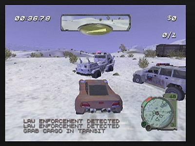 Screen ze hry Smuggler´s Run: Warzones