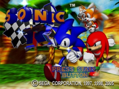 Screen ze hry Sonic Gems Collection